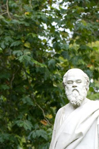 Socrate, maître de la maïeutique